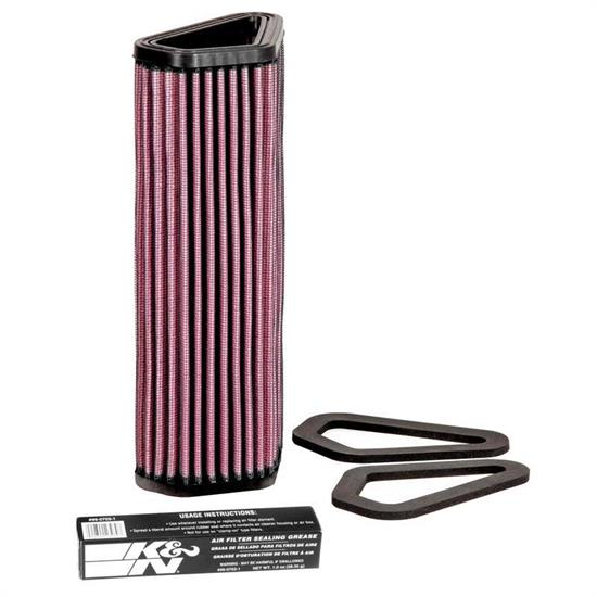 K&N DU-1007 Powersports Air Filter, Ducati 848-1198