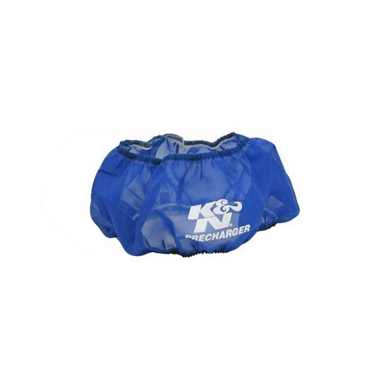 K&N E-1250PL PreCharger Air Filter Wrap, 3.5in Tall, Blue