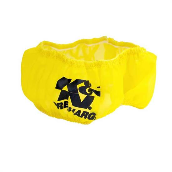 K&N E-1250PY PreCharger Air Filter Wrap, 3.5in Tall, Yellow