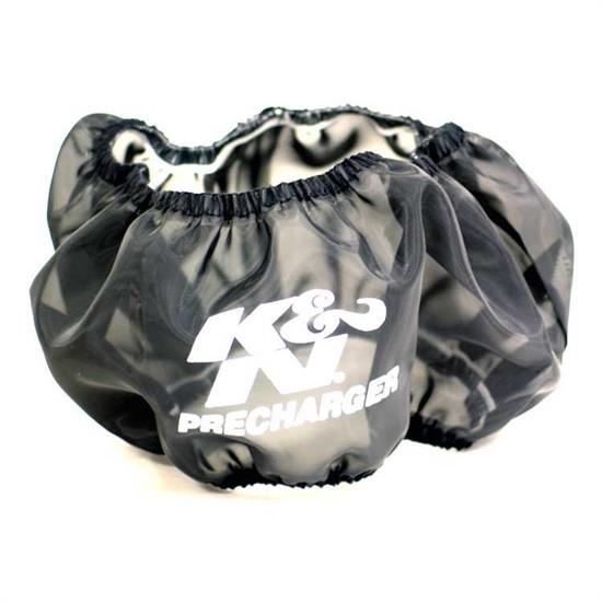 K&N E-1650PK PreCharger Air Filter Wrap, 3in Tall, Black