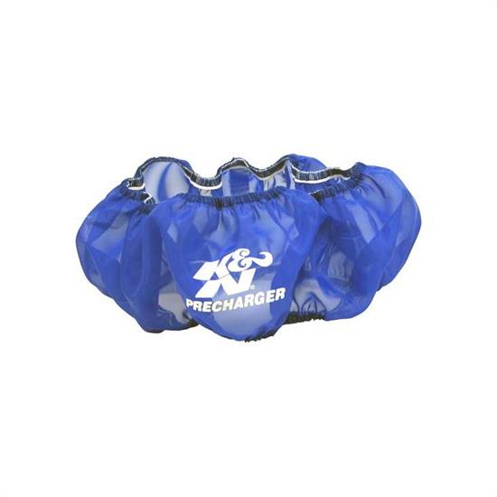 K&N E-1650PL PreCharger Air Filter Wrap, 3in Tall, Blue