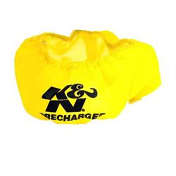 K&N E-1650PY PreCharger Air Filter Wrap, 3in Tall, Yellow