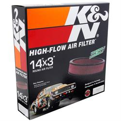 K&N E-1650 Lifetime Performance Air Filter