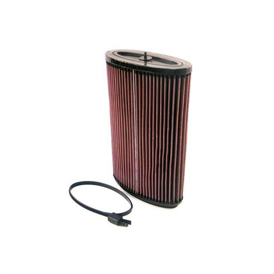K&N E-2295 Lifetime Performance Air Filter, Porsche 2.7L-3.4L
