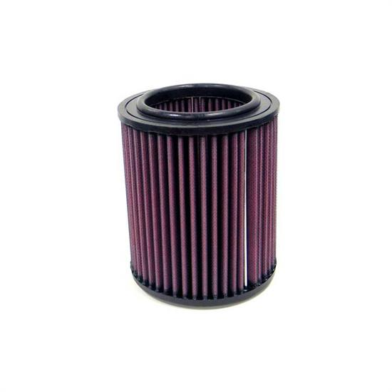 K&N E-2351 Lifetime Performance Air Filter, 6.5in Tall, Round