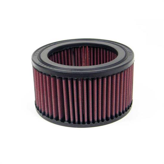 K&N E-2430 Lifetime Performance Air Filter, 3.25in Tall, Round