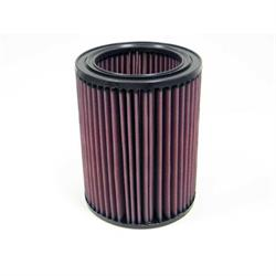 K&N E-2447 Lifetime Performance Air Filter, Isuzu 3.0L-3.1L