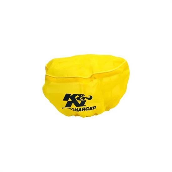 K&N E-2510PY PreCharger Air Filter Wrap, 4in Tall, Yellow