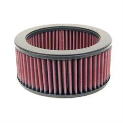 K&N E-2550 Lifetime Performance Air Filter, Fiat 66-90