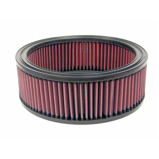 K&N E-2650 Lifetime Performance Air Filter, 3.438in Tall, Round