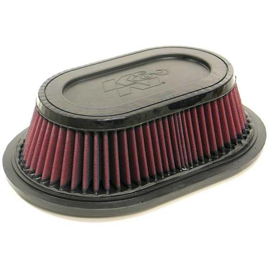 K&N E-2877 Lifetime Performance Air Filter, 3.75in Tall, Oval
