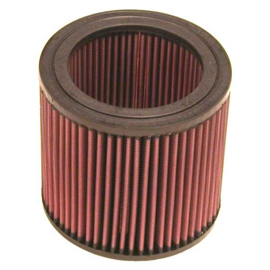 K&N E-3002 Lifetime Performance Air Filter, 5.75in Tall, Round