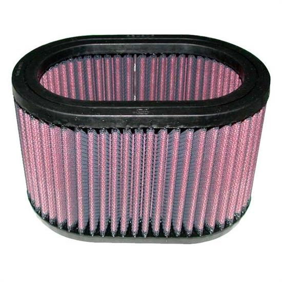 K&N E-3011 Lifetime Performance Air Filter, 4in Tall, Oval