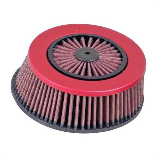 K&N E-3042 Lifetime Performance Air Filter, 2.688in Tall, Round Taper