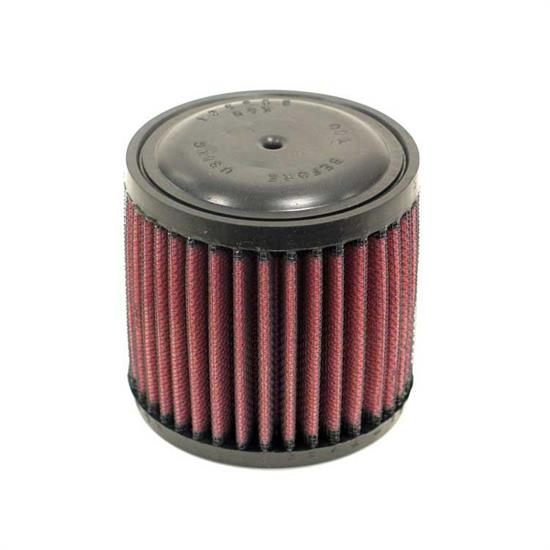 K&N E-3050 Lifetime Performance Air Filter, 3.5in Tall, Round