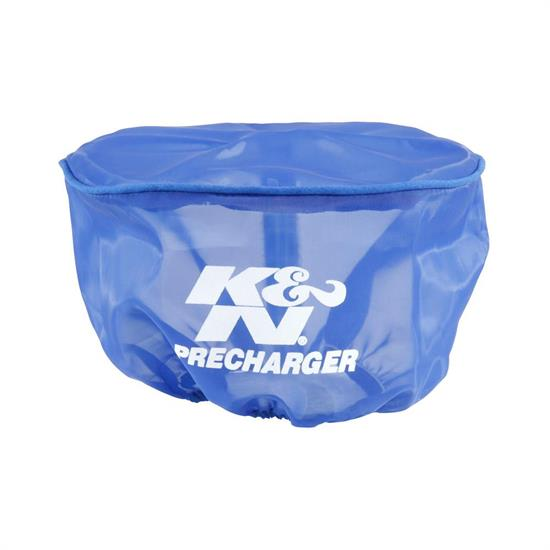 K&N E-3190PL PreCharger Air Filter Wrap, 3.25in Tall, Blue