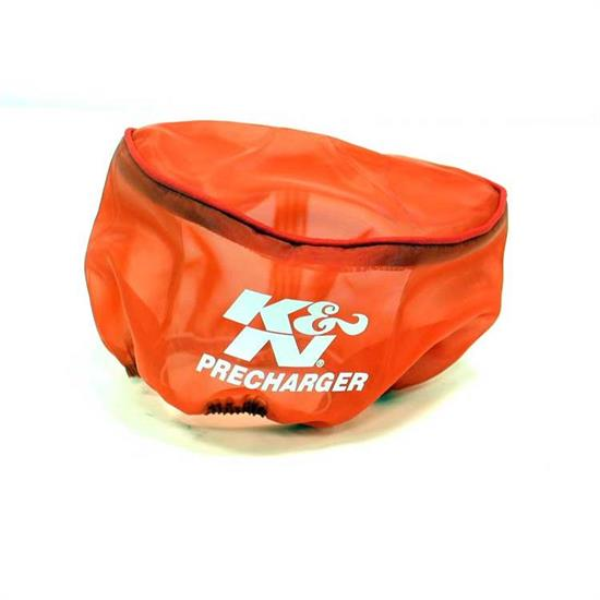 K&N E-3190PR PreCharger Air Filter Wrap, 3.25in Tall, Red