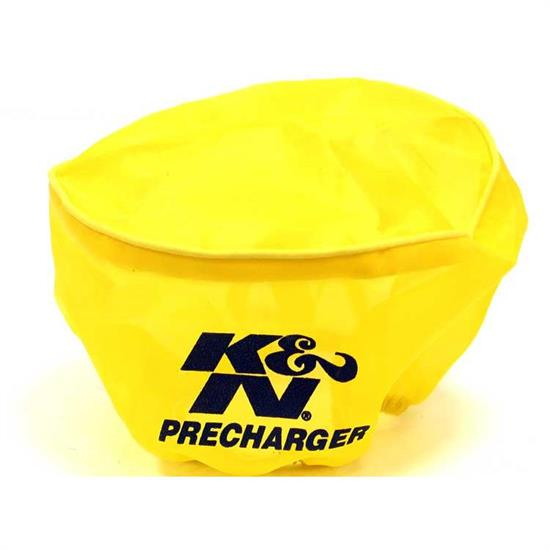 K&N E-3190PY PreCharger Air Filter Wrap, 3.25in Tall, Yellow