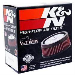 K&N E-3200 Lifetime Performance Air Filter, 2in Tall, Round