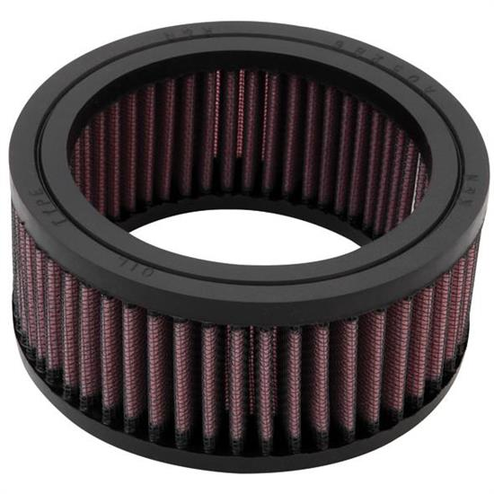 K&N E-3205 Lifetime Performance Air Filter, 2.25in Tall, Round