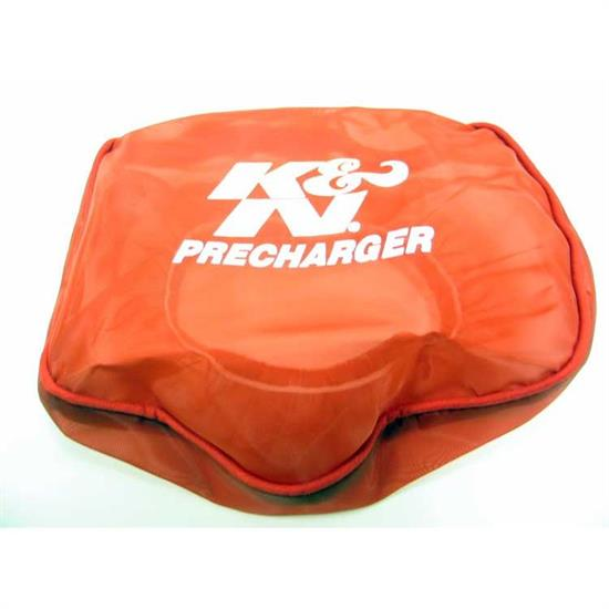K&N E-3211PR PreCharger Air Filter Wrap, 1.75in Tall, Red