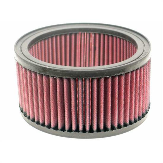 K&N E-3270 Lifetime Performance Air Filter, 3.25in Tall, Round