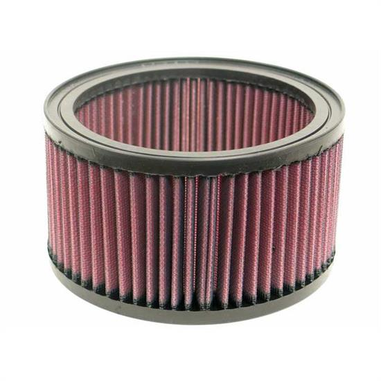 K&N E-3280 Lifetime Performance Air Filter, 3.625in Tall, Round