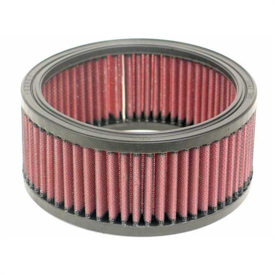 K&N E-3300 Lifetime Performance Air Filter, 2.75in Tall, Round
