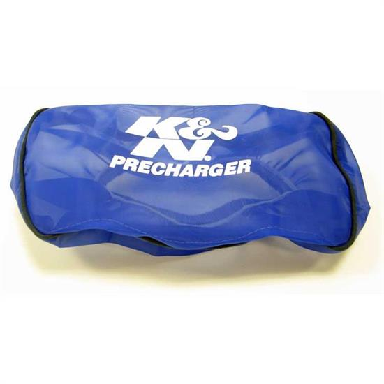 K&N E-3321PL PreCharger Air Filter Wrap, 2in Tall, Blue
