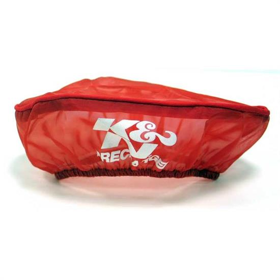 K&N E-3321PR PreCharger Air Filter Wrap, 2in Tall, Red