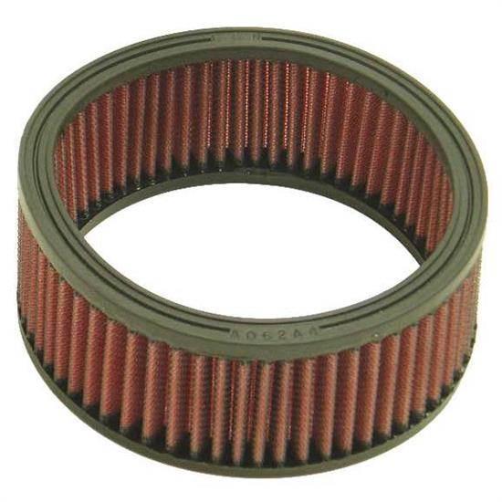 K&N E-3322 Lifetime Performance Air Filter, 2.5in Tall, Round