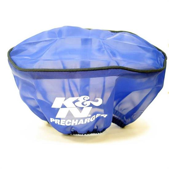 K&N E-3341PL PreCharger Air Filter Wrap, 3.5in Tall, Blue