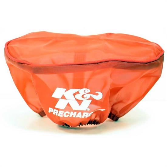K&N E-3341PR PreCharger Air Filter Wrap, 3.5in Tall, Red