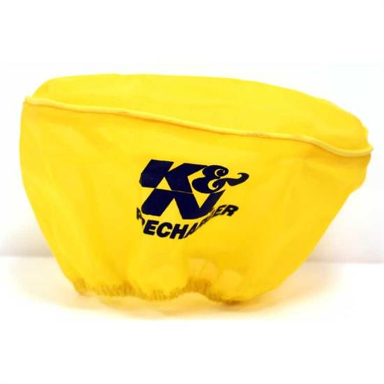 K&N E-3341PY PreCharger Air Filter Wrap, 3.5in Tall, Yellow