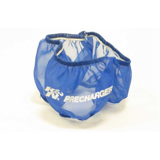 K&N E-3380PL PreCharger Air Filter Wrap, 3in Tall, Blue