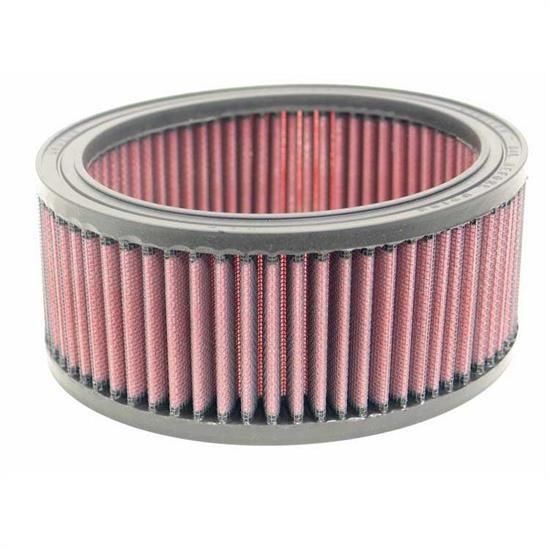 K&N E-3403 Lifetime Performance Air Filter, 3in Tall, Round