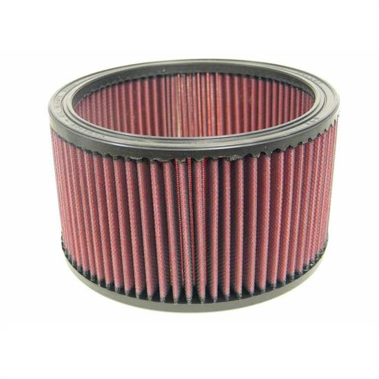 K&N E-3470 Lifetime Performance Air Filter, 4.5in Tall, Round