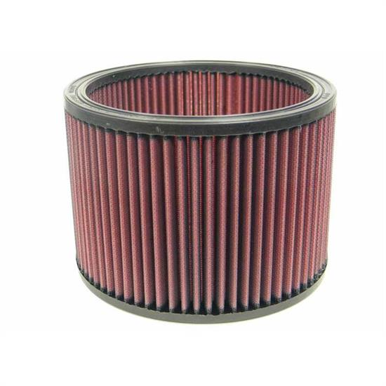 K&N E-3480 Lifetime Performance Air Filter, 5.5in Tall, Round