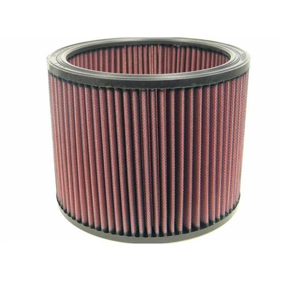 K&N E-3490 Lifetime Performance Air Filter, 6in Tall, Round