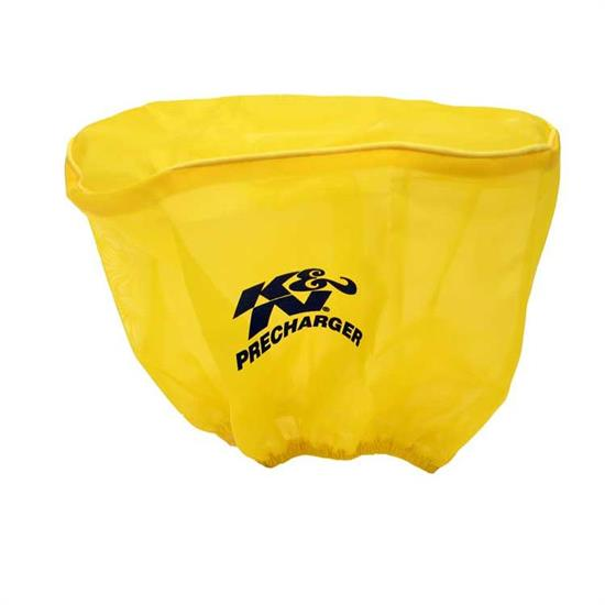 K&N E-3491PY PreCharger Air Filter Wrap, 6in Tall, Yellow