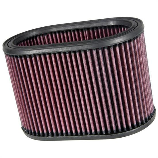 K&N E-3491 Lifetime Performance Air Filter, 6in Tall, Oval