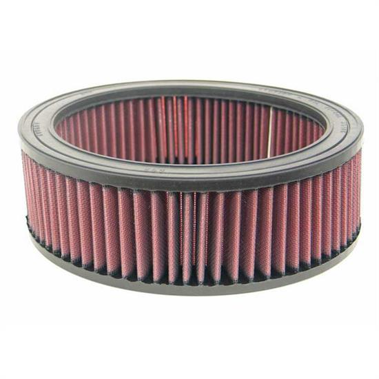 K&N E-3500 Lifetime Performance Air Filter, 3in Tall, Round
