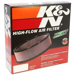 K&N E-3505 Lifetime Performance Air Filter, 2in Tall, Oval
