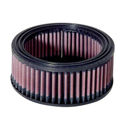 K&N E-3506 Lifetime Performance Air Filter, 2.375in Tall, Round