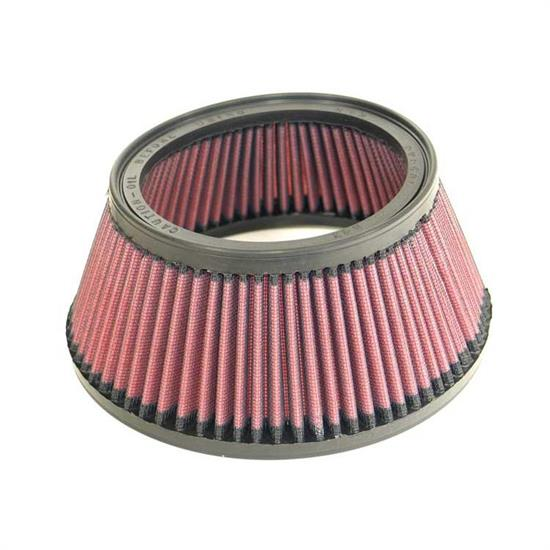 K&N E-3521 Lifetime Air Filter, 3.375in Tall, Tapered Conical