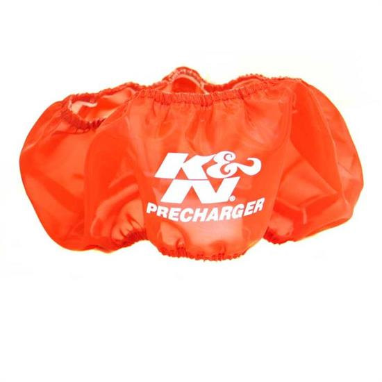 K&N E-3530PR PreCharger Air Filter Wrap, 3in Tall, Red