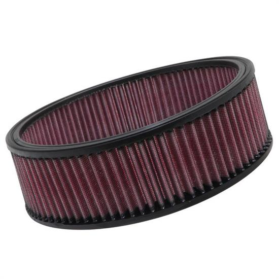 K&N E-3530 Lifetime Performance Air Filter, 2.875in Tall, Round