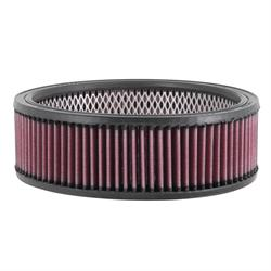 K&N E-3550 Lifetime Performance Air Filter, 2.75in Tall, Round