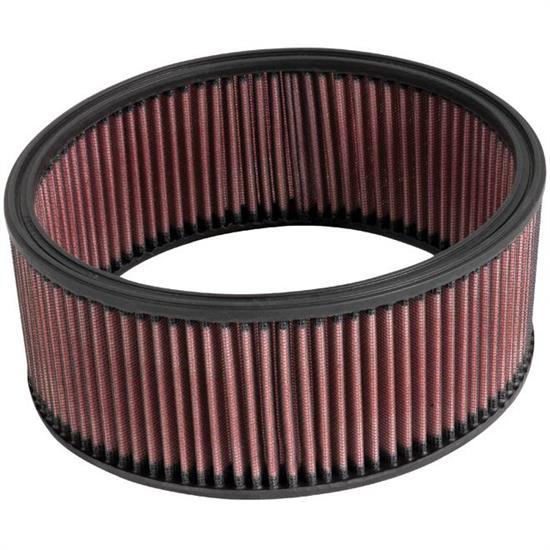 K&N E-3551 Lifetime Performance Air Filter, 3.5in Tall, Round