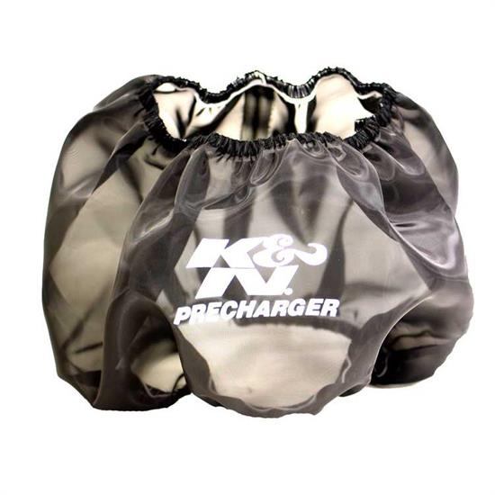 K&N E-3650PK PreCharger Air Filter Wrap, 5in Tall, Black